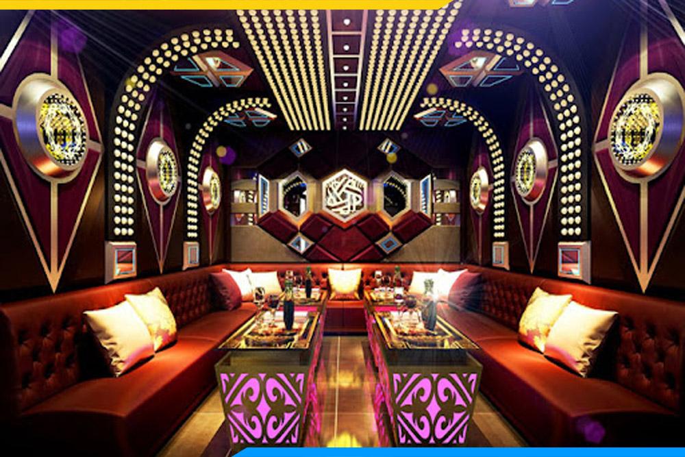 Mẫu sofa da phòng karaoke cực đẹp