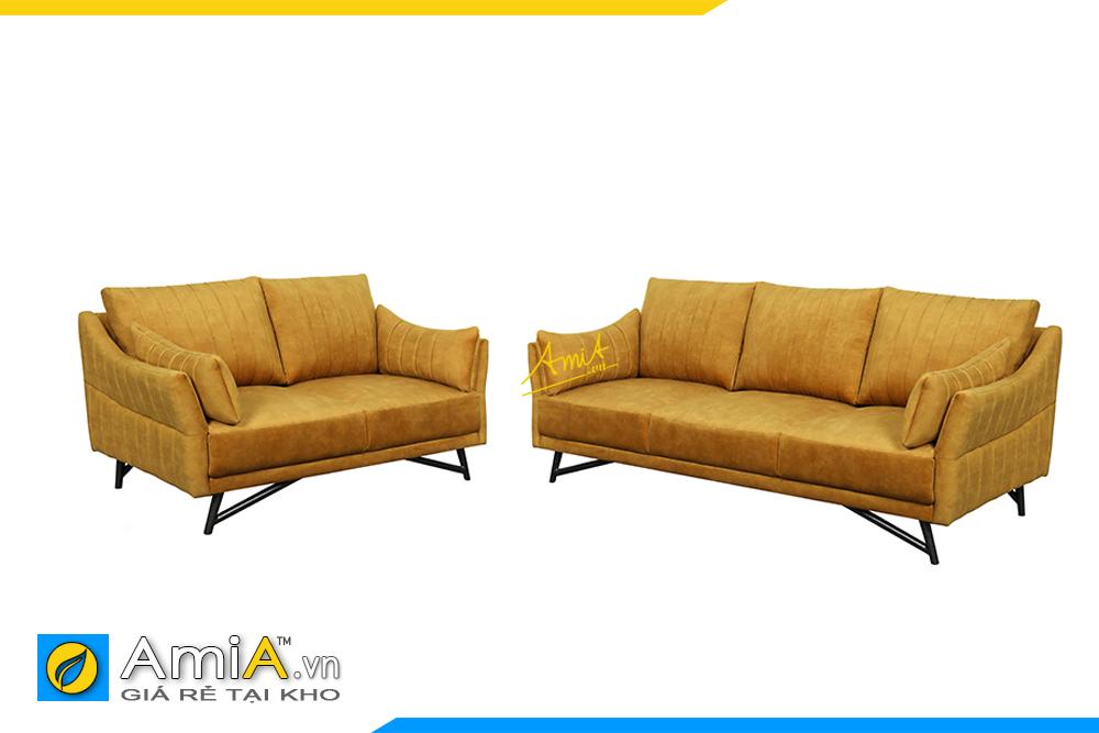 sofa phong khach ghe vang mau vang dep