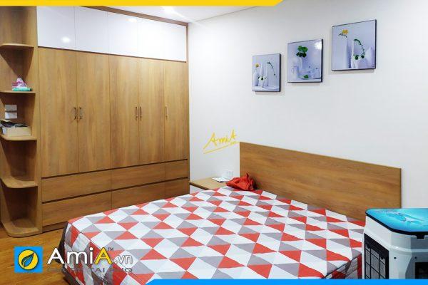Hình ảnh Bộ tranh bình hoa trắng treo tường phòng ngủ đẹp AmiA 1318