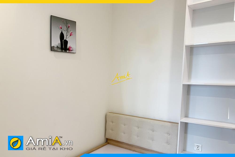 Hình ảnh Mẫu tranh bình hoa mộc lan 1 tấm treo tường phòng ngủ AmiA PN1381