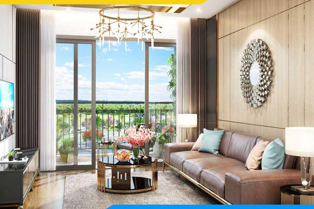 mẫu sofa da đẹp cho căn hộ mẫu dự án