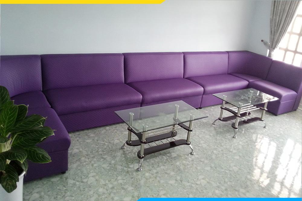 Mẫu sofa da quán hát thịnh hành nhất