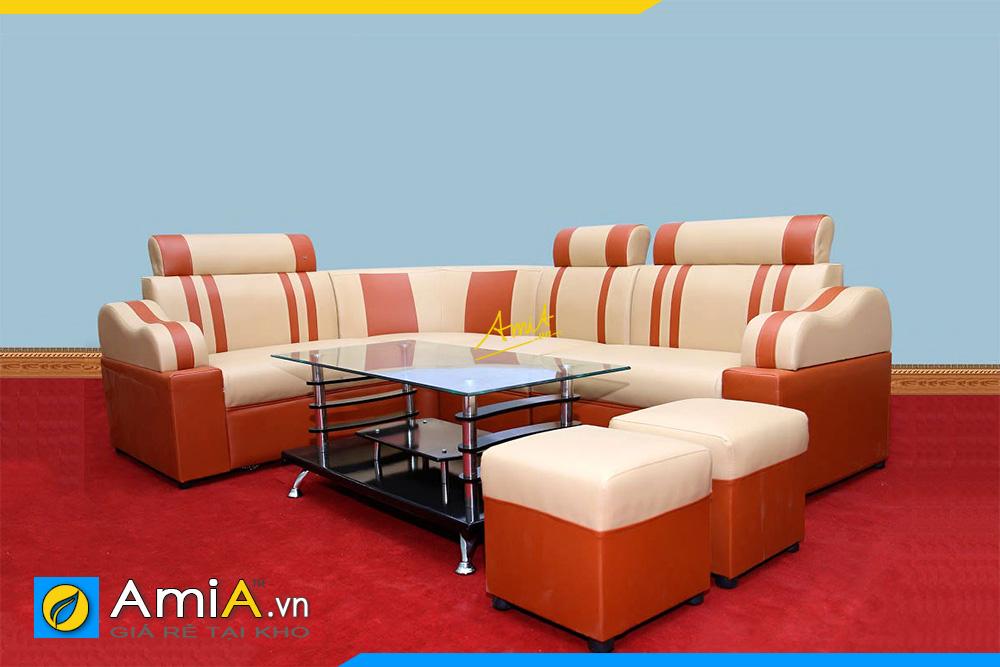 sofa phong khach da simili gia re