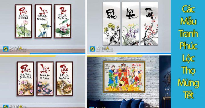 """Hình ảnh 55+ Tranh Phúc Lộc Thọ mừng Tết ý nghĩa """"Chiêu Tài Hút Lộc"""""""