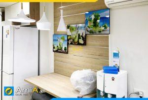 Hình ảnh Bộ tranh ly nước trái cây treo tường bàn ăn đẹp AmiA 615