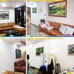 Hình ảnh Cách chọn tranh treo tường cho phòng ăn thông phòng khách