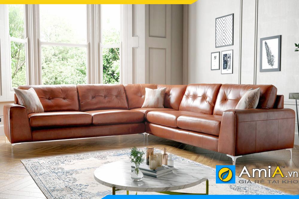 Ghế sofa da cho người mệnh Thổ