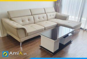 Ghế sofa da tựa gật gù AmiA271