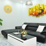 Các loại da sofa màu đen