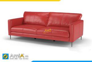 sofa văng da đẹp phòng khách AmiA 20045