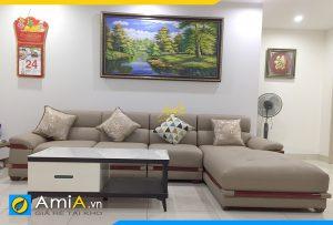 ghe sofa da phong khach chung cu amia pk512