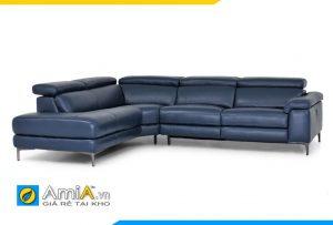 Ghế sofa da đẹp hiện đại phòng khách AmiA 20135