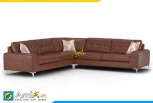 Ghế sofa da AmiA 20047 đẹp hiện đại cho mọi nhà