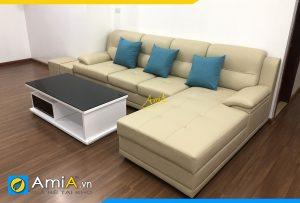ghe sofa goc phong khach lon amia pk500