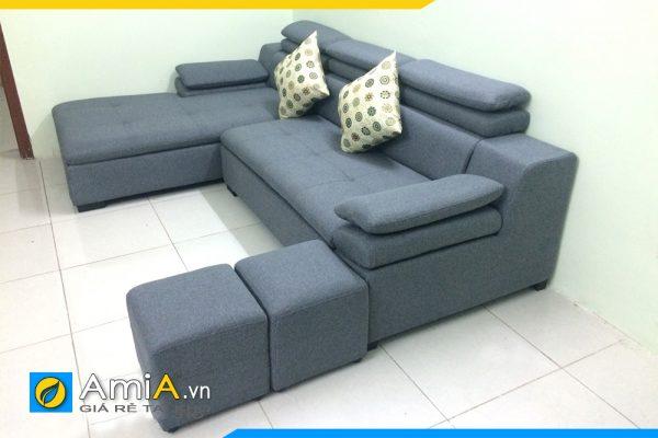 Ghế sofa da tựa gật gù hiện đại AmiA121