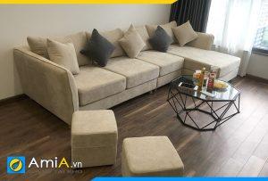 sofa phong khach chung cu hien dai amia pk501