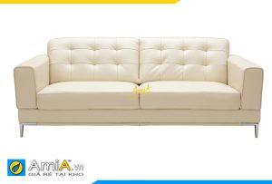 Ghế sofa da tân cổ điển AmiA 20160