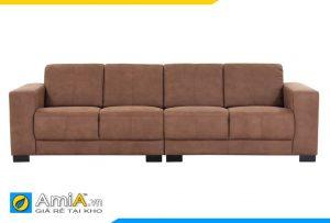 Ghế sofa da AmiA 20151 cực đẹp và hiện đại