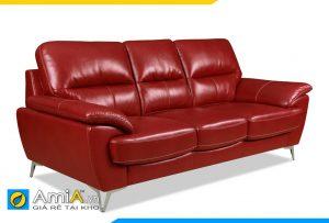 Ghế sofa da văng đẹp AmiA 20108