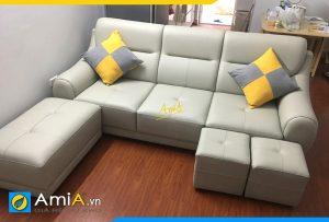 ghe sofa vang phong khach nho amia pk277