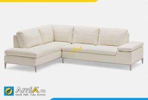 Ghế sofa da góc hiện đại cho phòng khác AmiA 20121