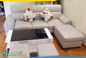 Ghế sofa văng nhỏ gọn cho phòng khách hiện đại