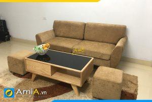 mau ghe sofa mini cho phong khach nho amia pk511