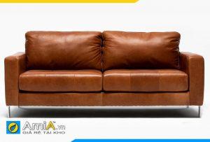 Ghế sofa da văng AmiA 20159 hiện đại tiện nghi