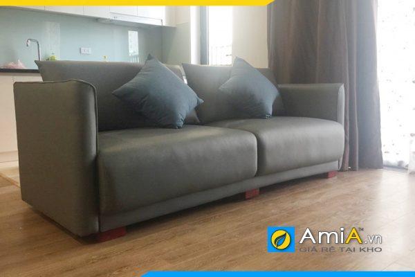 Ghế sofa da văng đôi đẹp hiện đại AmiA188