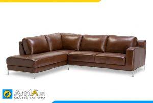Ghế sofa da AmiA 20154 đẹp phòng khách