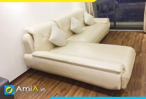 Ghế sofa da đơn giản hiện đại AmiA196