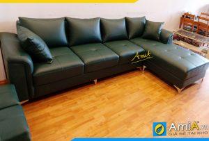 Ghế sofa da đẹp AmiA280