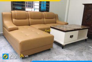 Ghế sofa da đẹp hiện đại AmiA350