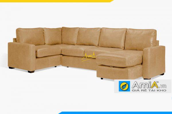 Ghế sofa góc chữ U cực đẹp và hiện đại AmiA 20058