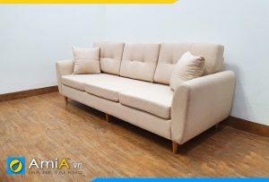 sofa phong khach chung cu mini boc ni gia re