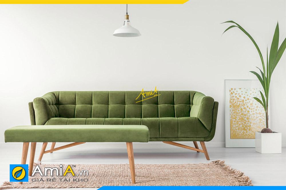 sofa phong khach mau xanh cho nguoi tuoi ky hoi