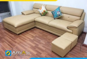 Ghế sofa da hiện đại phòng khách AmiA125