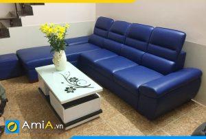 AmiA153 là mẫu ghế sofa da hiện đại được rất nhiều khách hàng yêu thích