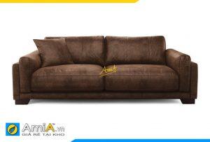 Ghế sofa da Âm 20014 cực đẹp cực sang