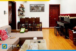 Hình ảnh Tranh phong cảnh núi đá trang trí không gian phòng ăn phòng khách AmiA 715